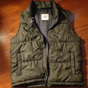 Green vest from old navy